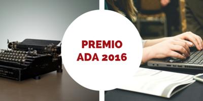 Premio ADA 2016