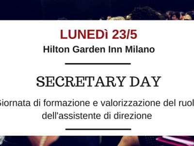 Secretary Day 23 maggio
