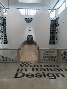 Woman in italian design