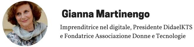 Gianna Martinengo - Donne e Tecnologie