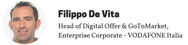 Filippo De Vita, Vodafone Italia