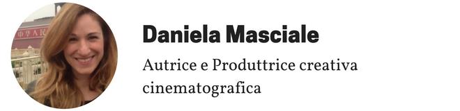 Daniela Masciale, autrice e produttrice creativa cinematografica