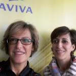 Roberta&Angela, assistenti Aviva