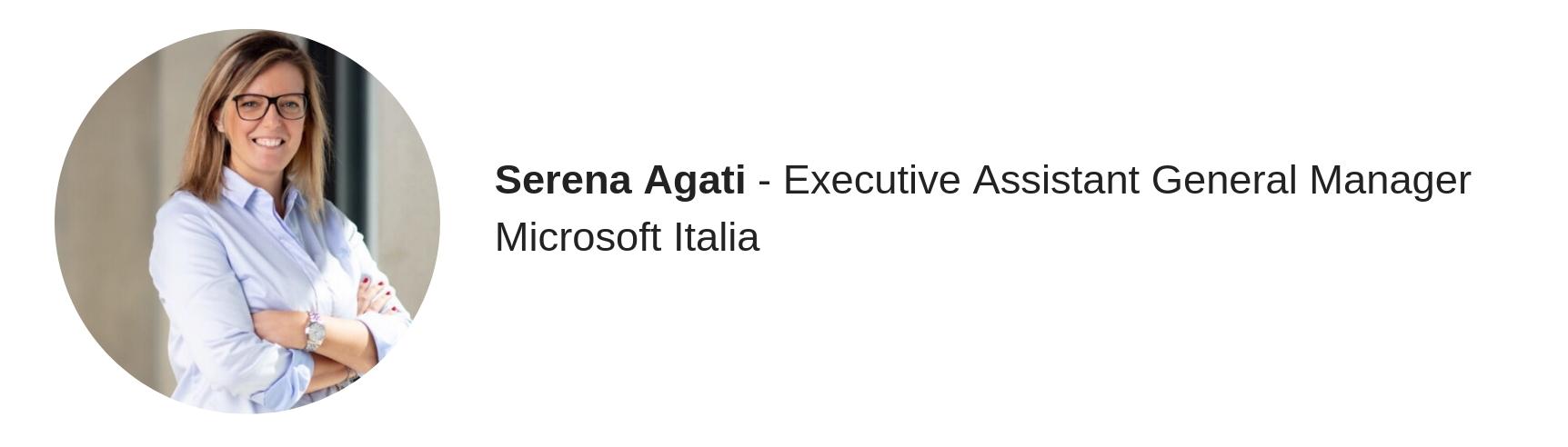 Serena Agati, Microsoft