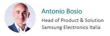 Antonio Bosio Samsung